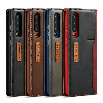 Leather Flip Wallet Stand Card Phone Case Cover For Huawei P20 P30 Pro Mate 20 • 6.75£