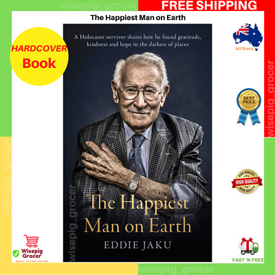 AU23.95 • Buy The Happiest Man On Earth By Eddie Jaku | HARDCOVER BOOK | NEW | FREE SHIPPING