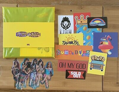 Kpop (G) I-dle Official Dumdi Dumdi Album Day Version With Stickers And Poster • 11.50£