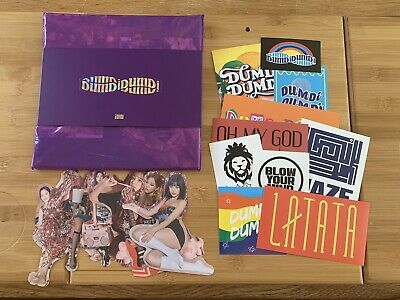 Kpop (G) I-dle Official Dumdi Dumdi Album Night Version With Stickers And Poster • 11.50£