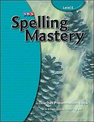 AU341.94 • Buy Spelling Mastery Level E, Teacher Materials, McGraw Hill, N/A,