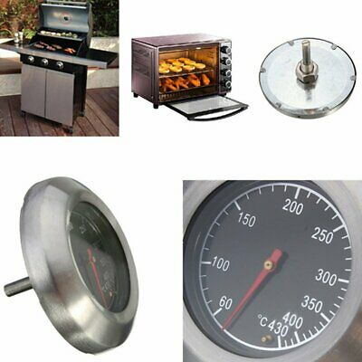 Stainless Steel Barbecue BBQ Smoker Grill Thermometer Temperature Gauge • 6.49£