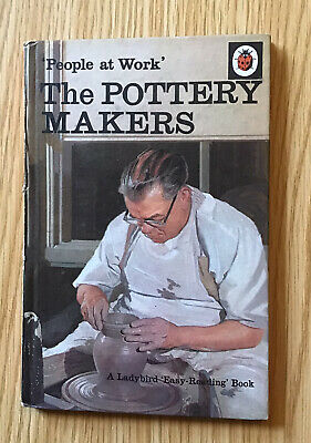 Vintage Ladybird Book 'People At Work' The Pottery Maker Series 606B 1st Edition • 9.95£