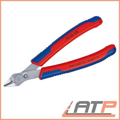 Knipex Electronic Super Knips® Wire Side Cutter 0,2 - 1,6 Mm² 125 Mm • 28.48£