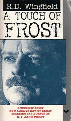 A Touch Of Frost By R. D. Wingfield, Paperback Used Book, Good, FREE & FAST Deli • 2.49£