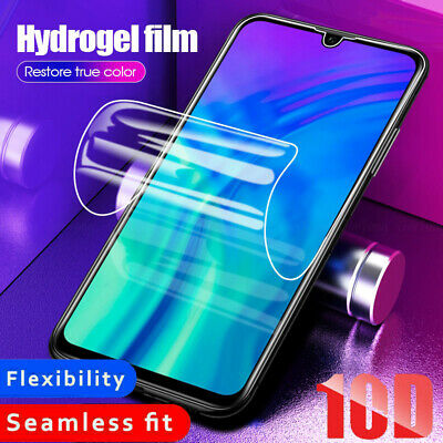 For HUAWEI P30 P40 PRO Full FILM Gorilla HYDROGEL Glass Screen Protector UK • 1.56£