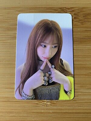 Kpop Itzy Official Chaeryeong Not Shy Photo Card • 6.95£