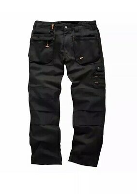 * Low Price*brand New Scruffs Trade Worker Plus Trousers-black- All Sizes • 23.95£
