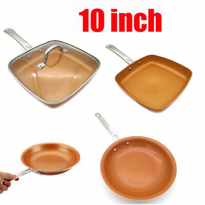 $42.98 • Buy Non-stick Copper Frying Pan With Ceramic Coating And Induction Cooking Oven Safe