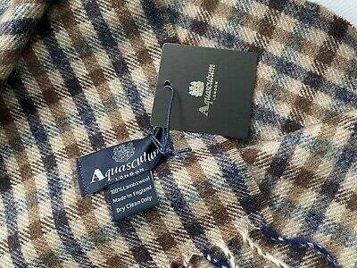£34.99 • Buy  Aquascutum Scarf Brand New With Tags Lambswool