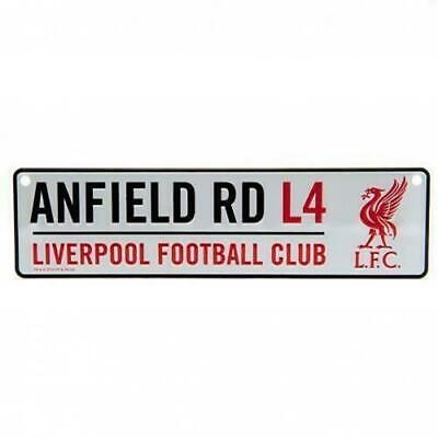 Liverpool FC Window Sign White Football Sign Anfield Road L4 LFC Birthday Gift • 5.59£