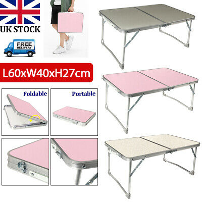 Portable Folding Laptop Notebook Table Desk Picnic Camping Outdoor Fishing BBQ • 11.99£