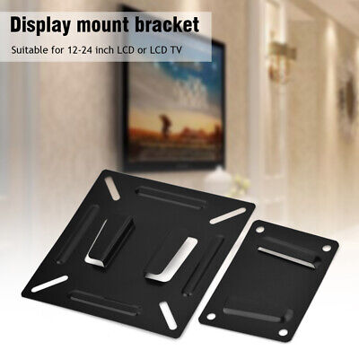 LCD LED TV Bracket Wall Mount Stand Holder For 12-24 Inch TV PC Screen UK • 6.35£