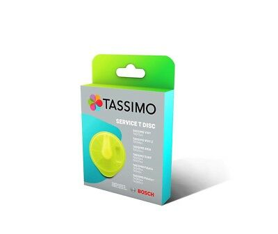 T-Disc Yellow Service Maintenance Cleaning For Tassimo Bosch T20 T40 T55 T65 T85 • 7.74£