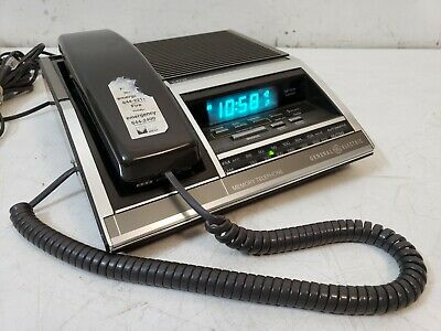 General Electric Alarm Clock Telephone And Radio Model 7-4735 Vintage COOL!! • 22.26£
