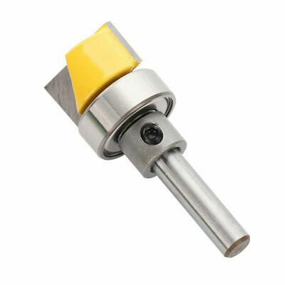 Trim Woodworking Milling 1/4  Cutter Shank Hinge Mortise Template Router Bit  • 6.59£