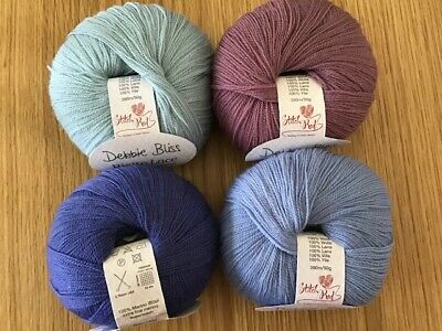 Debbie Bliss Rialto Lace Knitting Wool - Various Colours • 4.99£