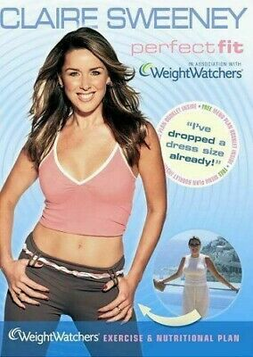 Claire Sweeney - Perfect Fit With Weightwatchers (2007) DVD  *LIKE NEW INC BOOK* • 2.99£