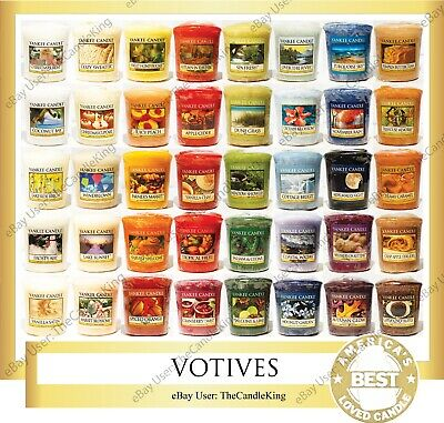 Yankee Candle - VOTIVES - You Pick - 1.75 Oz - Many Discontinued Scents!! • 1.50£