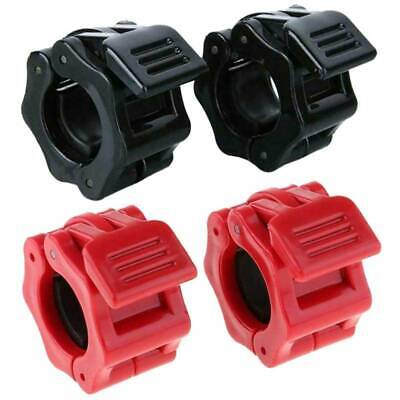 $ CDN10.53 • Buy 2pcs 25mm Dumbbell Barbell Bar Lock Weight Clamps Collars Gym Training
