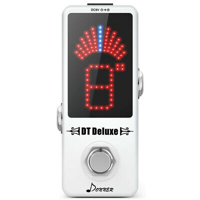 $ CDN30.39 • Buy Donner DT Deluxe Guitar Chromatic Tuner Pedal ±0.1 Cent For Musical Instruments