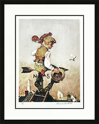 $ CDN2175.82 • Buy Norman Rockwell  Under Sail  1981 | Signed Lithograph | Framed | Make An Offer