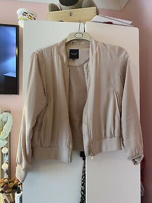 £6 • Buy New Look Petite Pink Bomber Jacket Size 12