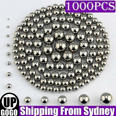 AU11.88 • Buy 1000pcs Steel Loose Bearing Ball Replacement Parts 2.5-8mm Bike Bicycle Cycling