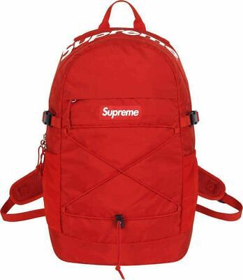 $ CDN534.82 • Buy Supreme Backpack Box Logo Super Rare Difficult To Obtain 2016 Color : Red