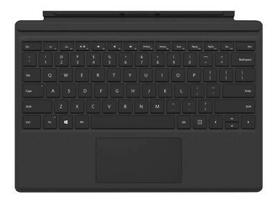 AU149 • Buy Genuine Microsoft Surface Pro Type Cover (1725 Black) For Surface Pro 3, 4, 5, 6