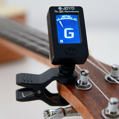 $ CDN10.38 • Buy Chromatic LCD DIGITAL Clip On Electric Tuner F Bass Guitar Ukulele Violin Cello