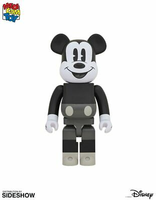 $1099 • Buy Be@rbrick Mickey Mouse (Black & White 2020 Version) 1000% Collectible Figure By