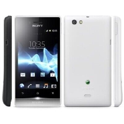 $ CDN114.39 • Buy Brand New! SONY XPERIA Miro Unlocked Mobile Phone GSM ST23A  White