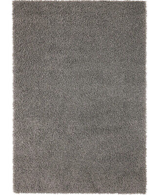 Ikea HAMPEN Rug, High Pile, Grey133x195 Cm • 59.99£
