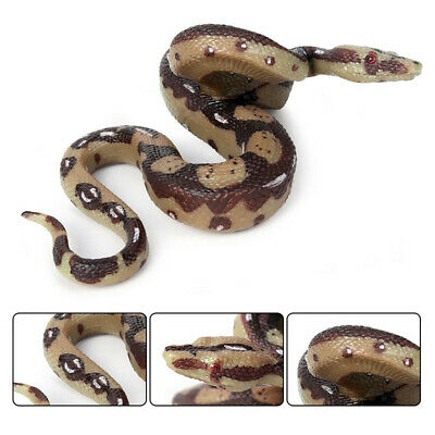 New Realistic Fake Rubber Toy Snake Fake Snakes April Fool's Day Party Prank UK • 8.18£