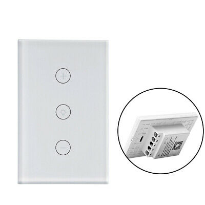 AU31.99 • Buy Smart Home WiFi Touch Dimmer Light Wall Switch Panel For Alexa Google Home