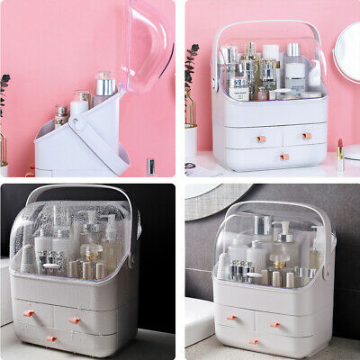 Make Up Organiser Cosmetic Case Storage Box Jewelry Shelf Display Stand Drawers  • 15.95£