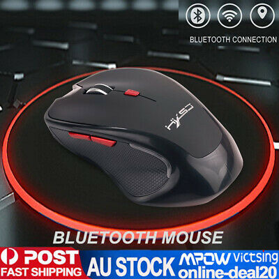 AU24.99 • Buy Optical Wireless Bluetooth Mouse 2400 DPI For Android Phone Tablet PC Laptop Mac