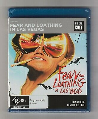 AU19.96 • Buy Fear And Loathing In Las Vegas Blu-ray (Johnny Depp) - Brand New & Sealed