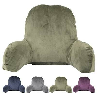 AU25.39 • Buy Lounger Bed Rest Back Pillow Support Arm Chair Seat Recliner Cushion Home Office