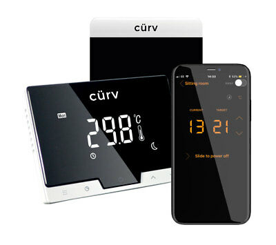 £79.99 • Buy Smart Thermostat Wireless Smartphone Central Heating Control Programmable App