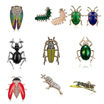 £2.37 • Buy Charm Animal Insect Bee Spider Pearl Crystal Brooch Pin Women Mens Jewellery