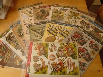 Assorted Hunkydory Large Deco Die-cut Sets - A Life Of Leisure • 1.40£