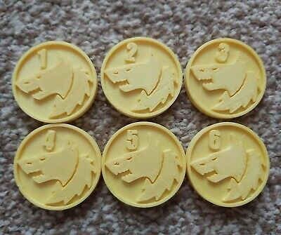 Warhammer Objective Markers Space Wolves X6 3D Printed War Game Accessory • 4.95£
