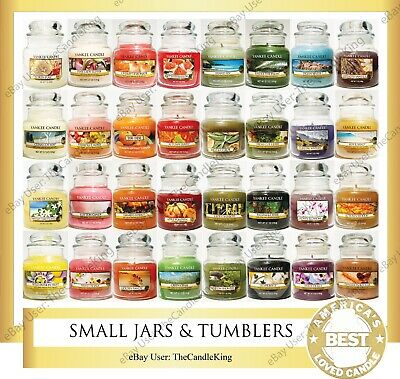 Yankee Candle - SMALL JARS & TUMBLERS - 3.7oz & 7oz - Many Discontinued Scents! • 18.71£