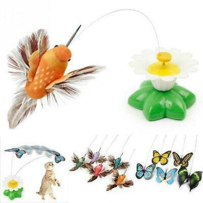 AU13.76 • Buy Pet Cat Automatic Rotating Butterfly Interactive Funny Toys Kitten Training Toy