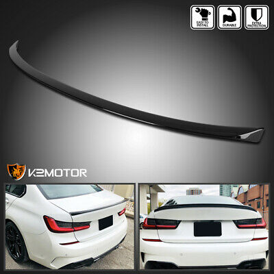 $94.38 • Buy For 2019-2020 BMW G20 3 Series M Sport Glossy Black Rear Trunk Spoiler Wing Lid