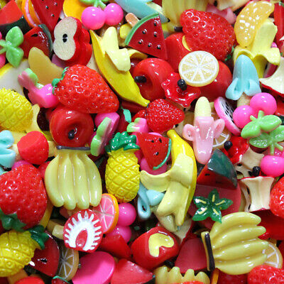 AU7.13 • Buy Multishape DIY Scrapbooking Resin Jewelry Accessory Slime Beads Cute Candy Color