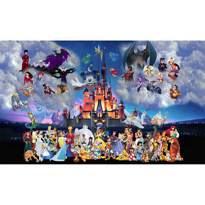 AU16.49 • Buy 5D DIY Full Drill Diamond Painting Disney Cross Stitch Kits Decor Art Craft