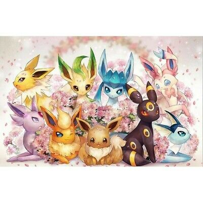 AU16.49 • Buy Round Drill 5D Diamond Painting Art Craft Pokemon Cross-Stitch Kit Cartoon DIY